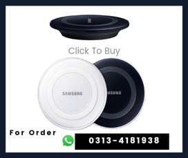 Original Samsung  Wireless Charger   For Galaxy S6 S6  EDGE S8 S9 S10
