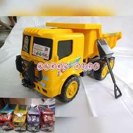 Mainan Mobil Truk Pasir/ Truk Dump Murah