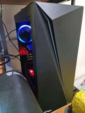 PC Gaming Intel i7 Gen 7, VGA 4GB RX550, RAM 16GB 2400Mhz