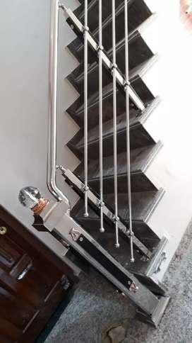 Steel railing steel gate wallpapers