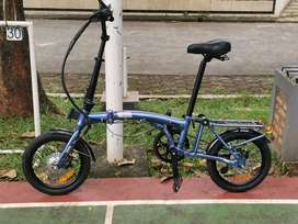 Sepeda Lipat Listrik United E-Trifold