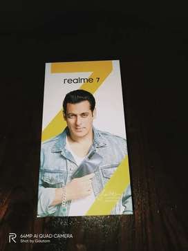 Realme 7 6+64 white urgent sell