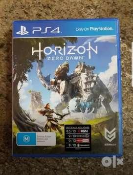PlayStation 4- Horizon Zero Dawn