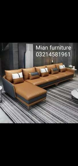 New Arrival Sofa Corner Design 7 Seater in rexion D 21