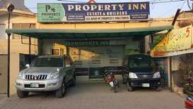 Commercial 6marla corner plote for sale Jasmine Block bahria town
