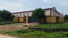 A newly built fully furnished industrial plant with residential villa.
