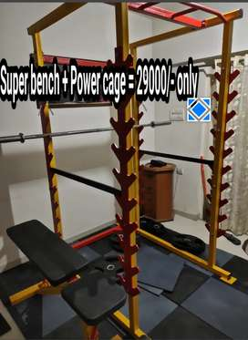 Power cage and super bench