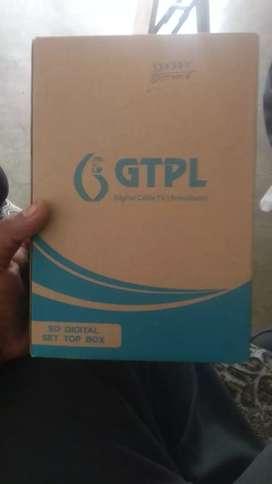 GTPL brand new set-top box.