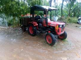 Rarely used tractor