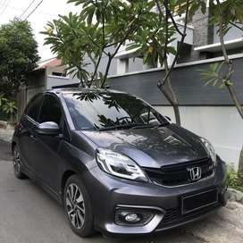 Brio RS 2018 Matic KM 17 ribu  Plat K  Pjk  bln 7 Low KM