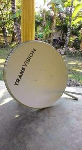 Gebyar promo parabola Transvision HD resmi spesial Pekanbaru murah