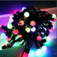 led tumblr bola rainbow (warna warni)