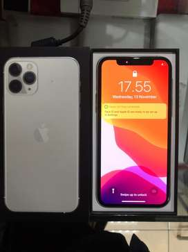 Iphone 11 pro silver 256 gb