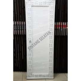 PINTU UPVC  KAMAR MANDI UPVC DOOR SPLUS 800X2000 SD1 F2