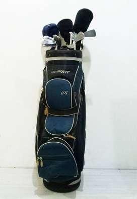Menjual Golf Set BEKAS Rp.4.970.000 Iron Set(Yamaha SX-25 [75%]) ,Wood