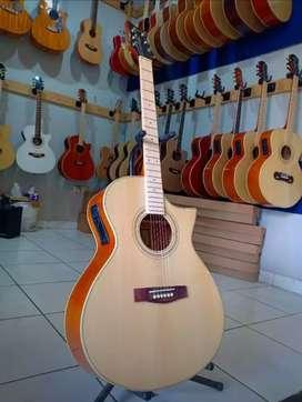 gitar akustik elektrik  gembira