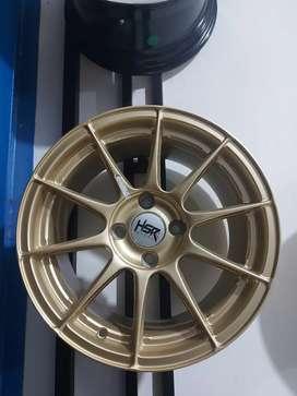 Velg HSR Ring 15 for brio agya ayla sirion datsun sigra mobilio yaris