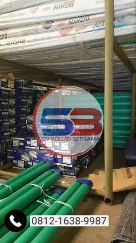 "Distributor Pipa PPR Rucika Kellen Green PN 10 Ukuran 2 1/2"""