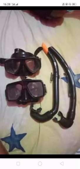 Mask snorkeling