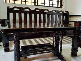 Wooden sofa good quality 3+2