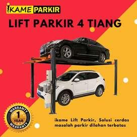 PARKIR MOBIL 4 TIANG