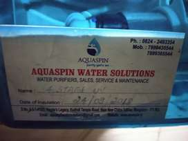 Water purifier system ONLY 1 YEAR OLD