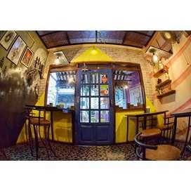 cafe/restaurant set up for sale