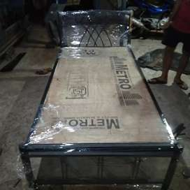 Any type of iron bed. Superior quality. With ply, Starting Price