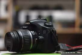 Canon 60d with 18.55mm