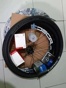 Wheelset Deca 406 ban schwalbe kojak