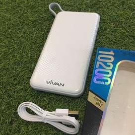 Powerbank Vivan 10200 mAh