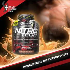 Muscletech Nitrotech Whey Protein 4 Lbs
