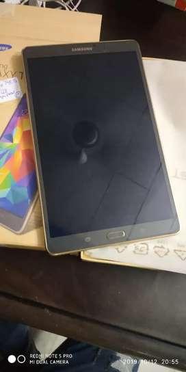 Samsung tab S 8.4inch display 3gb32gb fingers print wi fi