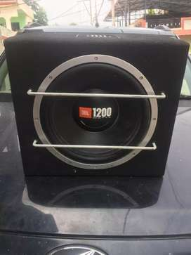 Amplifier with bass tube 1200 wt