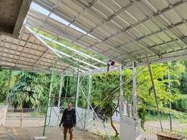 Konstruksi bajaringan    Atap pabrik/gudang    Atap kandang peternakan