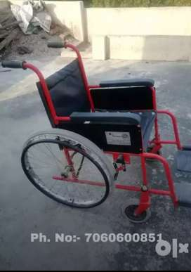 New wheel chair abhi bilkul b use ni ki new tires