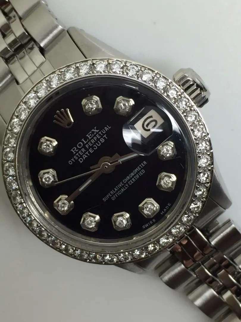 Promo Rolex ladies SS Datejust Diamond dial and bezel 0