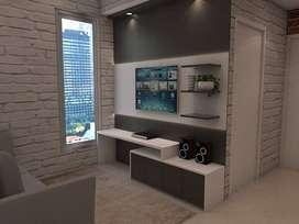 Jasa Design Interior Apartment Alexandria Tanggerang Serpong Custom