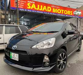 Toyota Aqua S Package Reg 2019