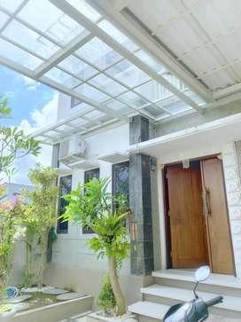 Rumah minimalis lantai 2 di Gatsu Barat