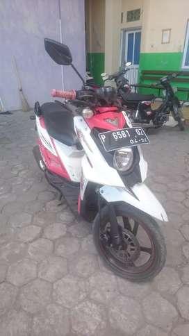 Yamaha x-ride, injeksi
