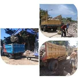 jasa angkut buang gragal,tanah, urukan,sampah proyek dan depo kontener