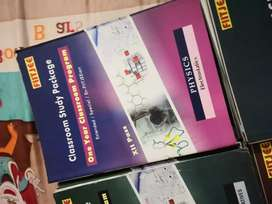 Fiitjee 11th and 12th class books..