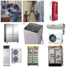 Jasa service,kulkas,AC ,mesin cuci
