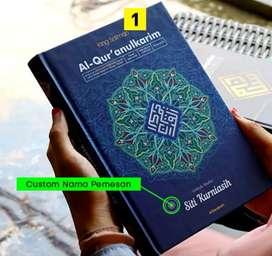 Mushaf Al-Qur'an istimewa Custom NAMA Pemilik