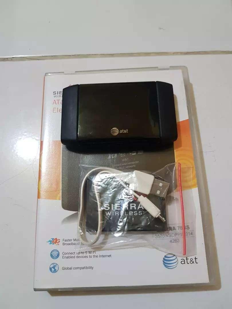 Modem sierra Wireless aircard 754s 4G sinyal ok, MODEM BELUM UNLOCK