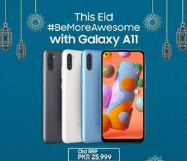 Limited offer SAMSUNG GALAXY A11 BOX PACK only = 23999/-