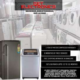 !!Free Home Delivery for Washing machine & Refrigerator with delivery