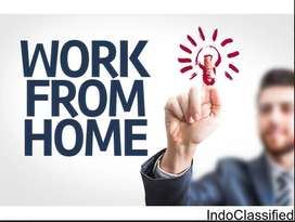 Male / Female Candidates Work @ home and earn money