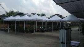 Tenda Lipat Atap Putih